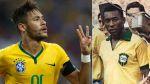 Neymar hizo lo que Pelé no pudo: marcó cuatro goles con Brasil - Noticias de pelé