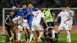 UEFA investigará actos de violencia en partido Albania-Serbia - Noticias de sanciones disciplinarias