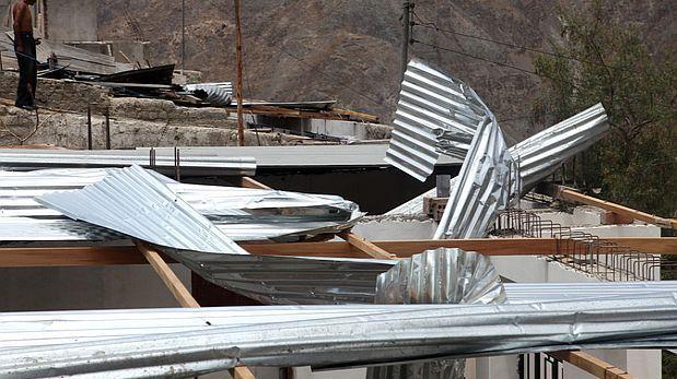 Indeci recomendó tomar medidas de seguridad por fuertes vientos