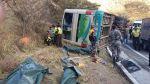 Mueren cuatro peruanos en accidente de tránsito en Ecuador - Noticias de vicente seminario