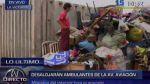 Retiro de ambulantes de 'Tacora' es supervisado por la policía - Noticias de ovalo arriola