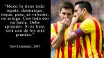 Lionel Messi en las mejores frases de los cracks del fútbol - Noticias de maradona