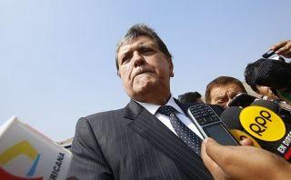 La fiscalía investiga a Alan García por sus grados académicos