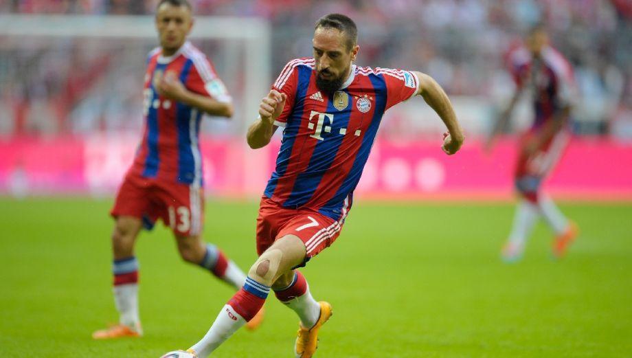 Ribéry se une al look de estos barbones en el fútbol mundial