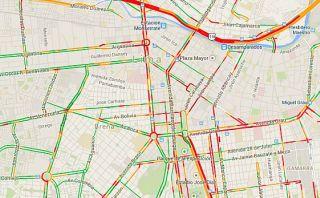 Procesión y concierto congestionan el tránsito en Lima [Mapa]