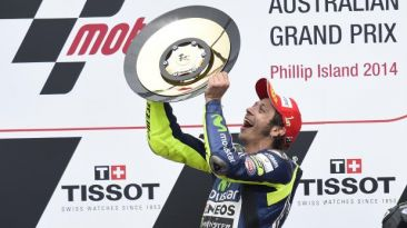 MotoGP: Valentino Rossi regresó al triunfo en Australia
