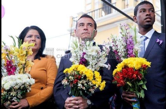 Alianza Lima y su tradicional homenaje al Señor de los Milagros