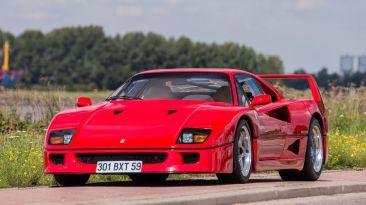 FOTOS: Pagan 890 mil dólares por Ferrari F40 de Nigel Mansell