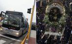 Buses de Metropolitano y Corredor azul desvían desde las 6 p.m.