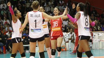 Vóley: Así celebró Perú su victoria y título en el Final Four
