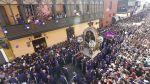 Señor de los Milagros: procesión entre el fervor y el desorden - Noticias de rutas
