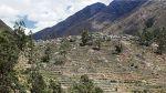 Laraos y el reto de recuperar sus andenes prehispánicos - Noticias de cultura