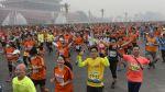 La maratón de Beijing que se corrió entre polución - Noticias de tiananmen