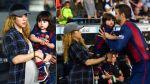 Shakira lució su embarazo en reciente partido de Gerard Piqué - Noticias de camp nou
