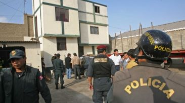 Chimbote: PNP y delincuentes se enfrentaron en plaza de armas