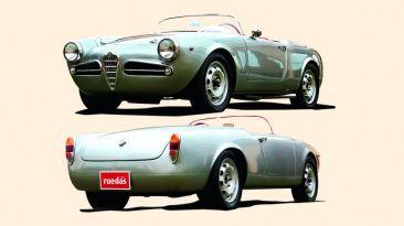 Reliquia: El personalizado Alfa Romeo Giulietta de 1962