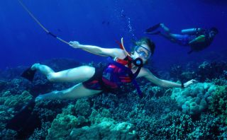 Prueba el Snuba y disfruta del mar de una manera diferente