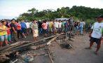 San Martín: bloquean carretera por presunto fraude en comicios
