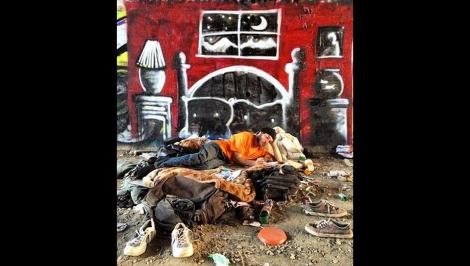 El grafitero que cumple los sueños de la gente sin hogar