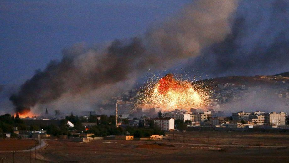 Estado Islámico: Los impactantes bombardeos de EE.UU. en Kobane