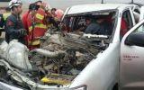 Huarmey: tres heridos deja choque de camioneta con tráiler
