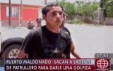 Linchan a ladrón dentro de un patrullero en Puerto Maldonado