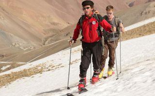 Esquía en estas peligrosas montañas de Afganistán