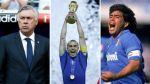 Maradona, Ancelotti y Cannavaro en el Salón de la Fama italiano - Noticias de dino baggio