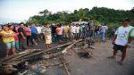 San Martín: bloquean carretera por presunto fraude en comicios - Noticias de elecciones municipales 2014