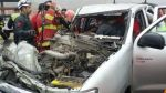 Huarmey: tres heridos deja choque de camioneta con tráiler - Noticias de accidente de transito