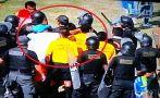 Repudiable: miembro de San Simón agredió al árbitro Romel López