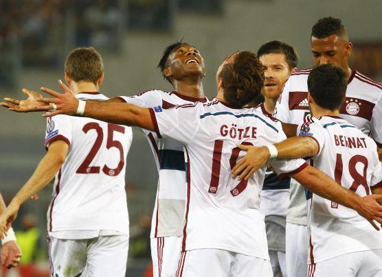 Bayern Múnich goleó 7-1 a Roma