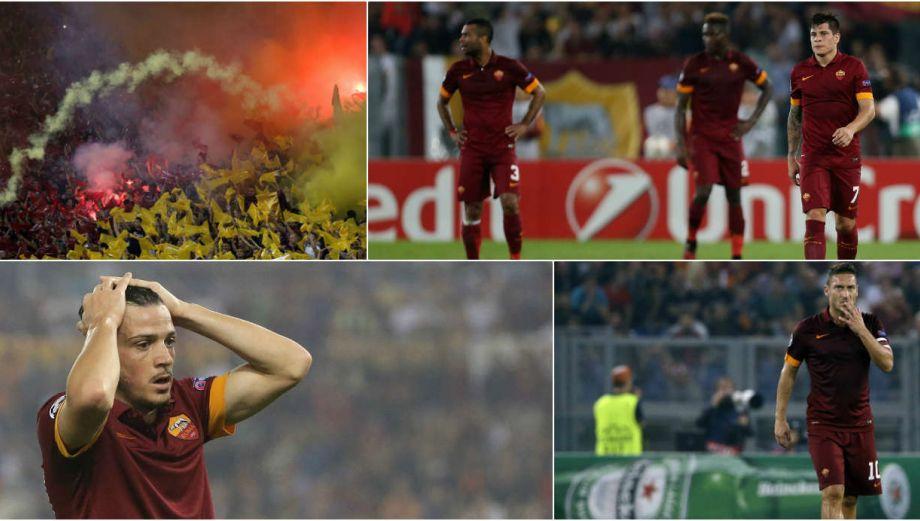De euforia a humillación: Roma y la dura caída ante Bayern