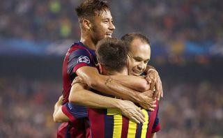 Barcelona venció 3-1 al Ajax en el Camp Nou por la Champions