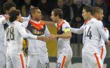 Shakhtar vapuleó 7-0 al Bate con cinco goles de Luiz Adriano