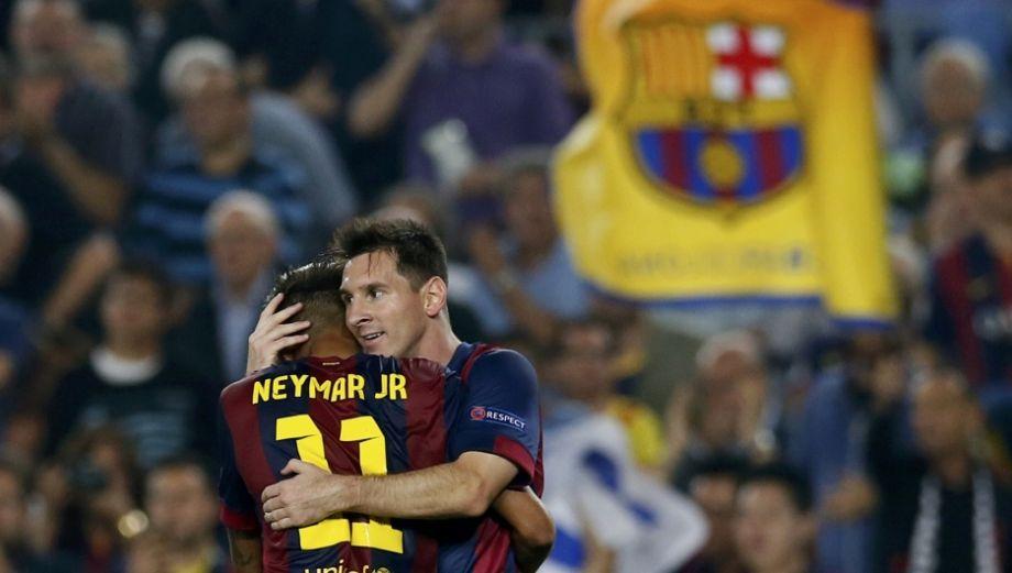 La conexión Messi-Neymar y el triunfo del Barza en imágenes