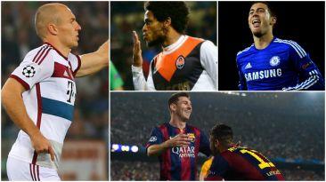 Champions League: los 40 goles de un día histórico en el torneo