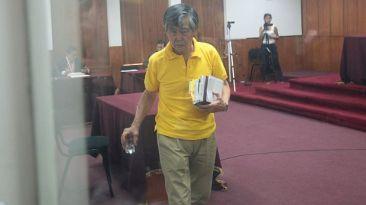 Alberto Fujimori vuelve a ser internado en una clínica