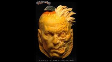 Halloween: escultor convirtió estas calabazas en arte de terror