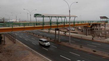 Puente en la Costa Verde fue inaugurado con 13 meses de retraso