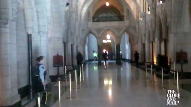 Video: Tiroteo al interior del Parlamento de Canad...