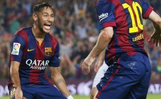 El gol de Neymar, elegido como el mejor de ayer en Champions
