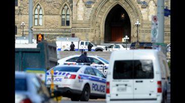El asombroso despliegue policial tras el tiroteo en Canadá