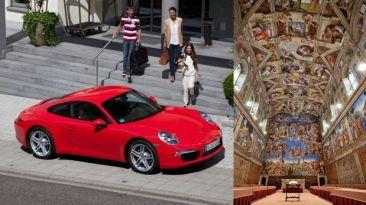 Porsche es el primero en alquilar la Capilla Sixtina