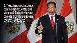 López Meneses, Humala y Nadine: Las frases que se lanzaron - Noticias de congreso