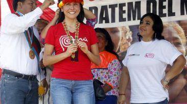 """""""Nadine Heredia no tiene arte ni parte en denuncia de mineros"""""""