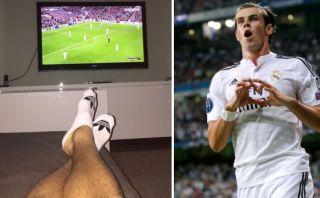 Así celebró Gareth Bale el triunfo del Real Madrid en Champions
