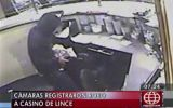 Violento robo a casino de Lince fue grabado por cámaras [Video]