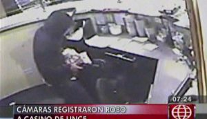 Violento robo a casino de Lince fue grabado por cámaras