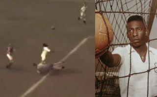 Pelé y el mejor gol de su carrera recreado virtualmente